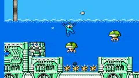 Mega Man 4 - Dive Man's Stage