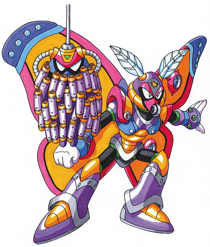 Morph moth mega man hq fandom powered by wikia - Megaman wikia ...