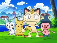 Archivo:EP572 Meowth, Mime Jr., Pachirisu y Pikachu.png