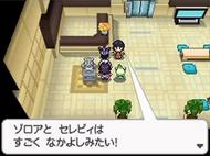 Acompañante Pokémon Negro y Blanco