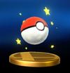 Trofeo de Poké Ball SSB4 (Wii U)