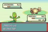 Destructor en Pokémon Rubí y Zafiro