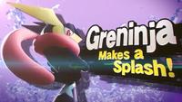 Greninja makes a Splash!