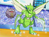 EP519 Koffing y Scyther.png