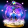 Trofeo de Megaevolución (Lucario) SSB4 (Wii U)