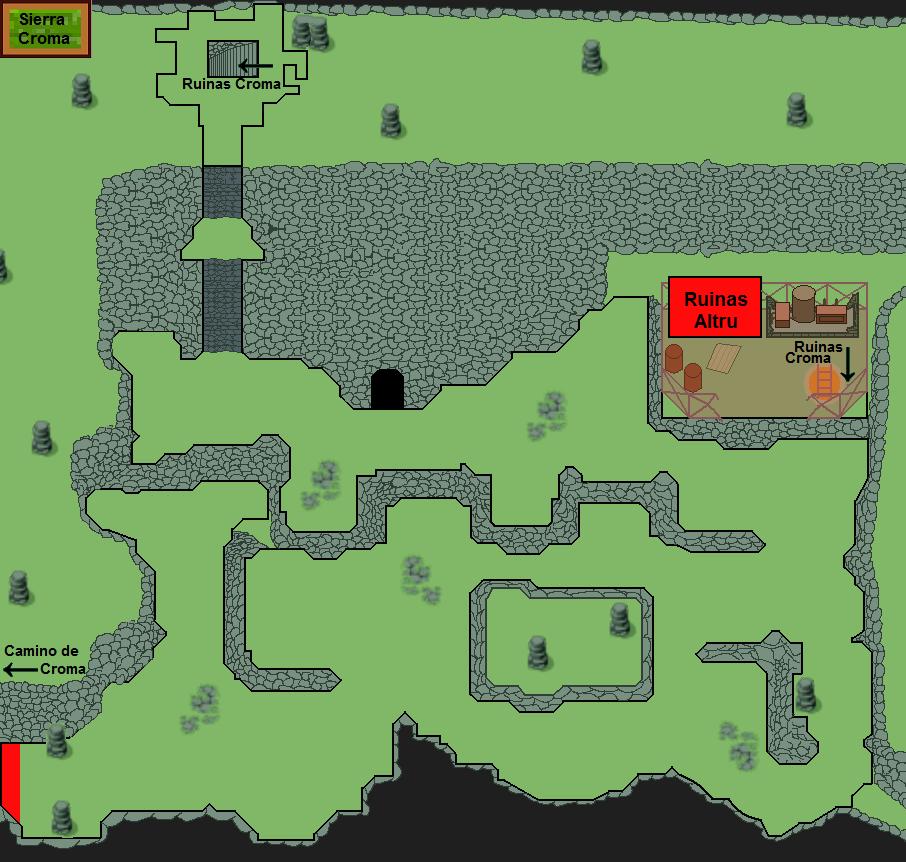 Plano de Sierra Croma