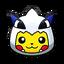 Pikachu Pokédisfraz Lugia