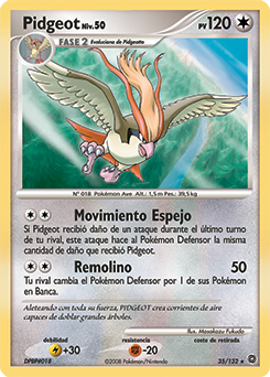 Carta de Pidgeot