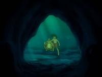 Archivo:EP558 Ash y Buizel exminando la cueva.png