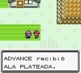Recibiendo Ala plateada en Pokémon Oro