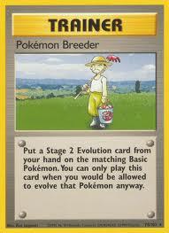 Carta Pokémon Breender