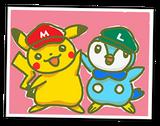 PAA Dibujo de Pikachu y Piplup