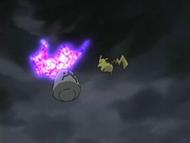 EP525 Spiritomb es derrotado y regresa a su piedra