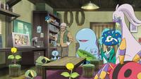 EP915 Goodra de Ash, Keanan y Pokémon del pantano (Cameo).png