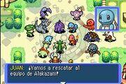 Plaza Pokémon antes de Caverna Magma