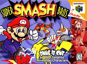 Carátula Super Smash Bros
