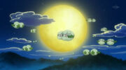 EP692 Cottonee frente a la luna
