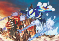 Groudon Primigenio vs Kyogre Primigenio.png