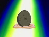 EH15 Huevo fosilizado de Aerodactyl