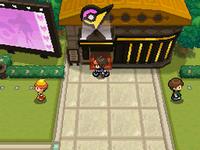 Entrada al Gimnasio Pokémon de Ciudad Mayólica N2B2