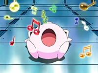EP412 Jigglypuff usando Canto dormido