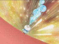 EP574 Piplup de Dawn usando Rayo burbuja.JPG