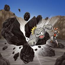 Artwork de golpe roca