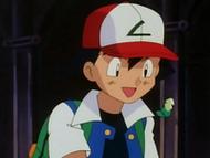 EP063 Medalla Tierra cayendo en las manos de Ash