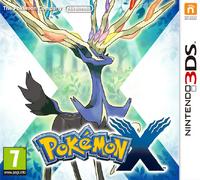 Carátula oficial de Pokémon X