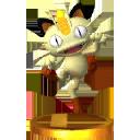 Trofeo de Meowth SSB4 (3DS)