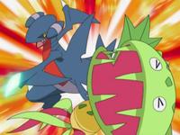 Archivo:EP583 Gabite usando garra dragón sobre Carnivine.png