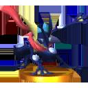 Trofeo de Greninja SSB4 (3DS)