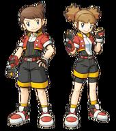 Primo y Caty como Top Rangers