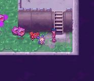 Pokémon Ranger Koffing atacando
