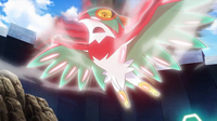 EP933 Hawlucha usando plancha voladora