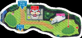 Mapa de la ruta 16
