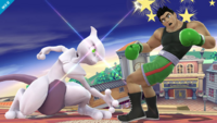 Mewtwo usando anulación SSB4 Wii U