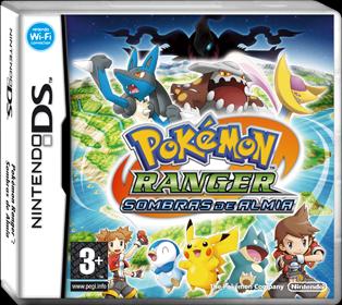 Archivo:Carátula Pokémon Ranger Sombras de Almia.png