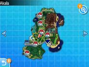 Localización de la ruta 4 en Alola