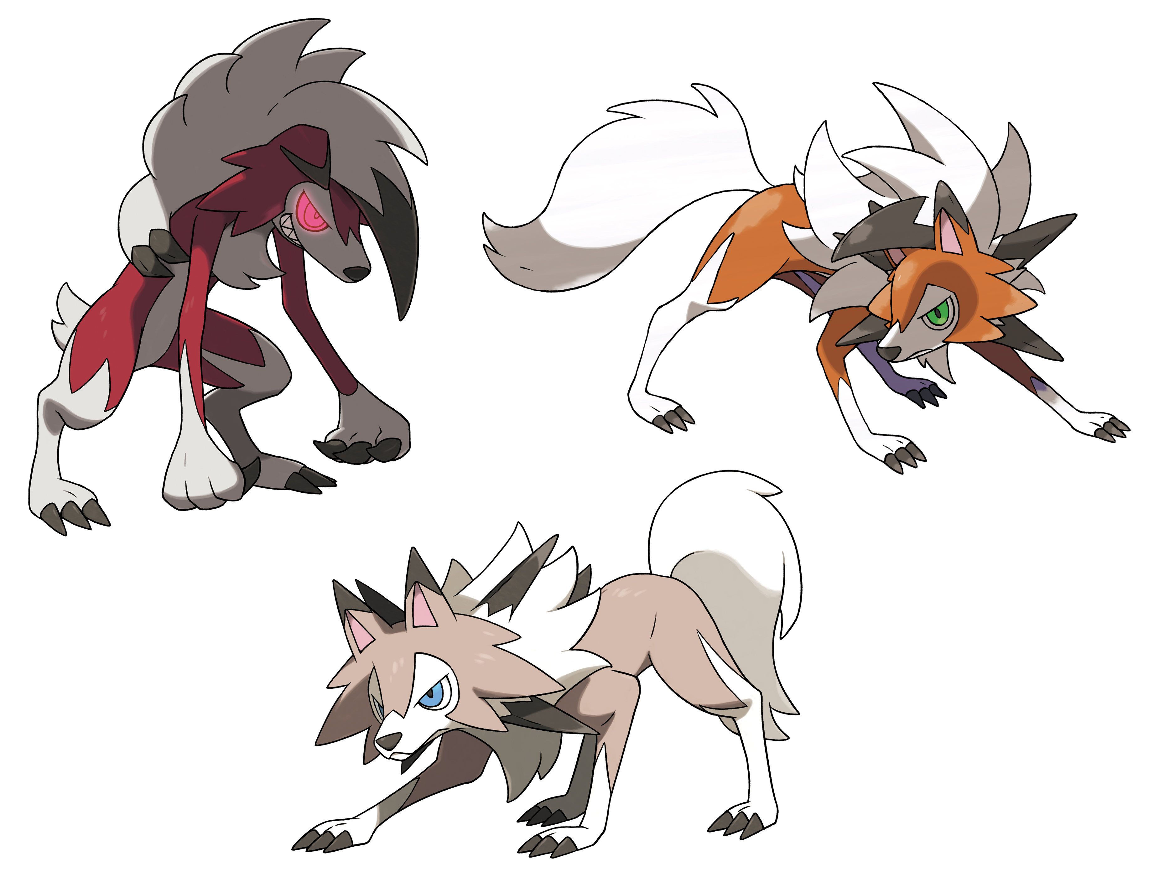 Image result for lycanroc