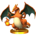 Trofeo de Charizard SSB4 (3DS)