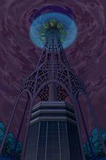 Torre Altru con un escudo