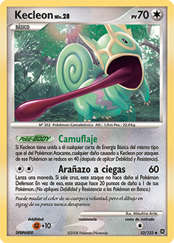 Carta de Kecleon