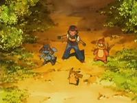 Archivo:EP540 Ash, Riolu, Buizel y Pikachu en el bosque.png