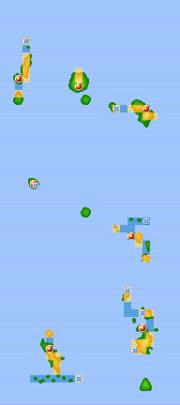 Islas Sete en Pokémon Rojo Fuego y Verde Hoja