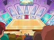 EP530 Escenario del concurso Pokémon de Sosiego