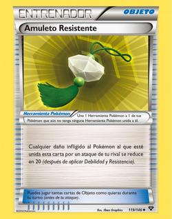 Carta Amuleto Resistente