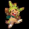 Chespin Pokémon Mundo Megamisterioso