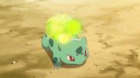 EP846 Bulbasaur usando rayo solar