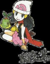 Turtwig y Maya (Ken Sugimori)